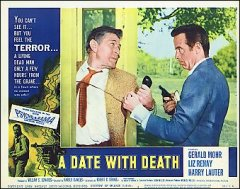 Date with Death Horror # 1 from the 1959 movie. Staring John Agar, Gloria Talbott