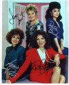 Designing women cast signed by four