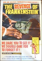 Revenge of Frankenstein Peter Cushing Hammer Film 1958