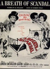 Breath of Scandal Maurice Chevalier Sophia Loren