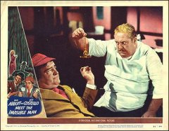 Abbott and Costello Meet the Invisible Man 3 Costello pictured