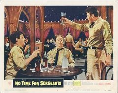 NO TIME FOR SARGEANTS # 4 Andy Griffith 1958