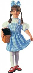 Dorothy Child Costume Wizard of Oz Sizes INFT,TODD