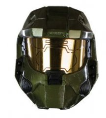 HALO 3 Master Chief Costume Deluxe Helmet (High End)