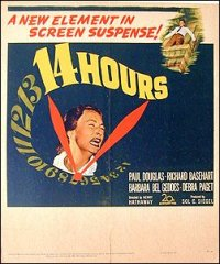 14 Hours Paul Douglas Richard BaseHart Debra Paget