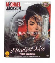 Michael Jackson MICROPHONE HEADPIECE **In Stock**