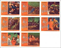 War of the Worlds 8 card set H.G. Wells Investment set collectors choice**
