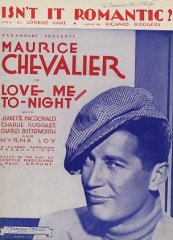 Love Me Tonight Maurice Chevalier 1932
