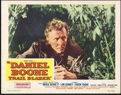 Daniel Boone Trail Blazer # 2 from the 1956 movie. Staring Lon Chaney
