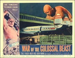 War of the Colossal Beast Salley Fraser Roger Pace