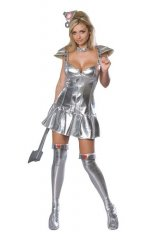 Tin Woman Adult Sexy Costume XS, S, M