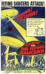 EARTH VS. THE FLYING SAUCER