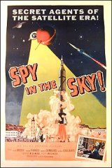 Spy In The Sky 1958 Linen backed