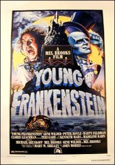 Young Frankenstein Style B 1974 Linen backed