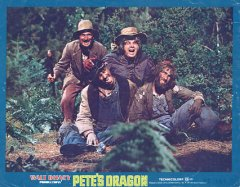 PETE'S DRAGON Set of 8 cards 1977