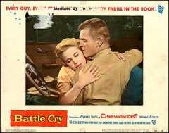 BATTLE CRY Van Heflin 1955