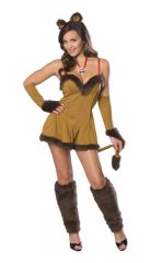 Cowardly Lion Adult Sexy Costume XS, S, M
