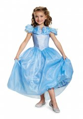 Cinderella Movie Child Prestige Costume Size XS,S,M,L
