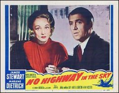 No Highway in the Sky James Stewart Marlene Dietrich Pictured #2 1957