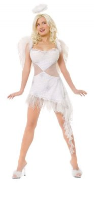 PLAYBOY Licensed Costume HEFS ANGEL XS, S, M