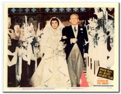 Father of the Bride Spencer Tracy Elizabeth Taylor Best Card