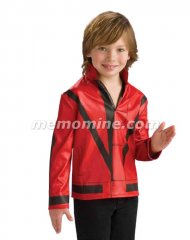 Michael Jackson RED THRILLER JACKET Child Costume PRE-SALE