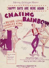 Chasing Rainbow Bessie Love Charles King 1930