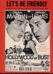 Hollywood or Bust Dean Martin Jerry Lewis 1956