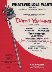 Damn Yankees Gwen Verdon Stephen Douglass 191958