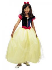 SNOW WHITE PRESTIGE Girl Costume Size 4-6X