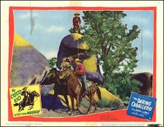 DARING CABALLERO #6 from the 1949 movie. Staring Dancan Renaldo Cisco Kid