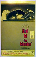 DIAL M FOR MURDER Alfred Hitchock