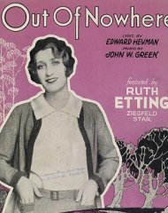 Out of Nowhere Ruth Etting