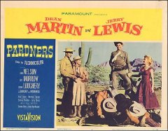 PARDNERS MARTIN AND LEWIS shows both 1956 Printed low so partial # shows still measures full card