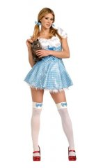Sequin Dorothy Adult Sexy Costume XS, S, M