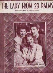 Lady from 229 Palms Andrews Sisters