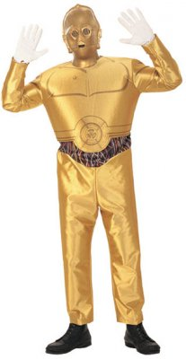 C-3PO� Adult Costume Star Wars Size M