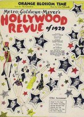 Hollywood Revue of 1929 Buster Keaton Joan Crawford Jack Benny 1929