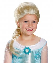 Frozen Elsa's child wig