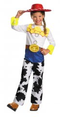 Toy Story 3 Jessie Classic Child Costume 3T-4T, 4-6X