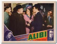 Alibi Republic Picture Margaret Lockwood Hugh Sinclair