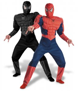 Adult Reversible Deluxe Spider-Man Costume