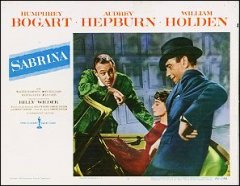 Sabrina Humphrey Bogart Audrey Hepburn William Holden
