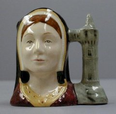 Catherine Of Aragon, Miniature D6658