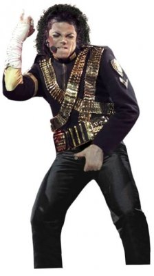 Michael Jackson Invincible Jacket w/ Metal Badges - Black Deluxe CHILD Costume PRE-SALE