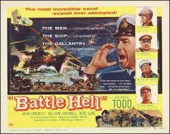 Battle Hell Richard Todd Keye Luke # 1 1957