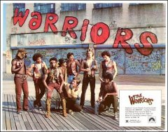 Warriors 8 card set Michael Beck James Remar