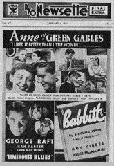 Anne of Green Gables Limehouse Blues George Raft Anna May Wong Jean Parker
