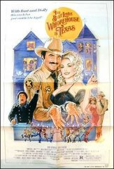 Best Little Whorehouse in Texas Dolly Parton Burt Reynolds