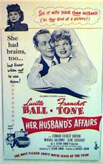 HER HUSBANDS AFFAIRS Lucille Ball Franchot Tone